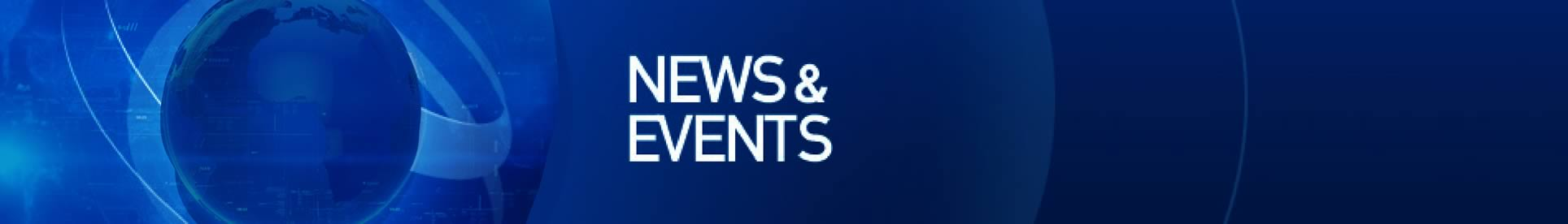News and Events Banner